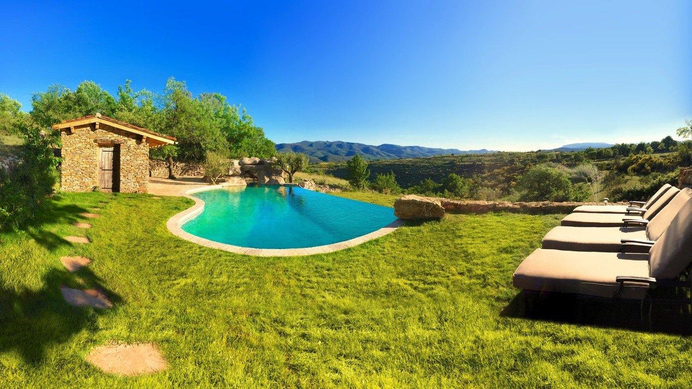 Ferienhaus mit Pool in Frankreich