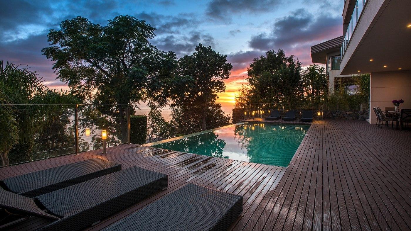 Ferienhaus mit Pool auf Madeira