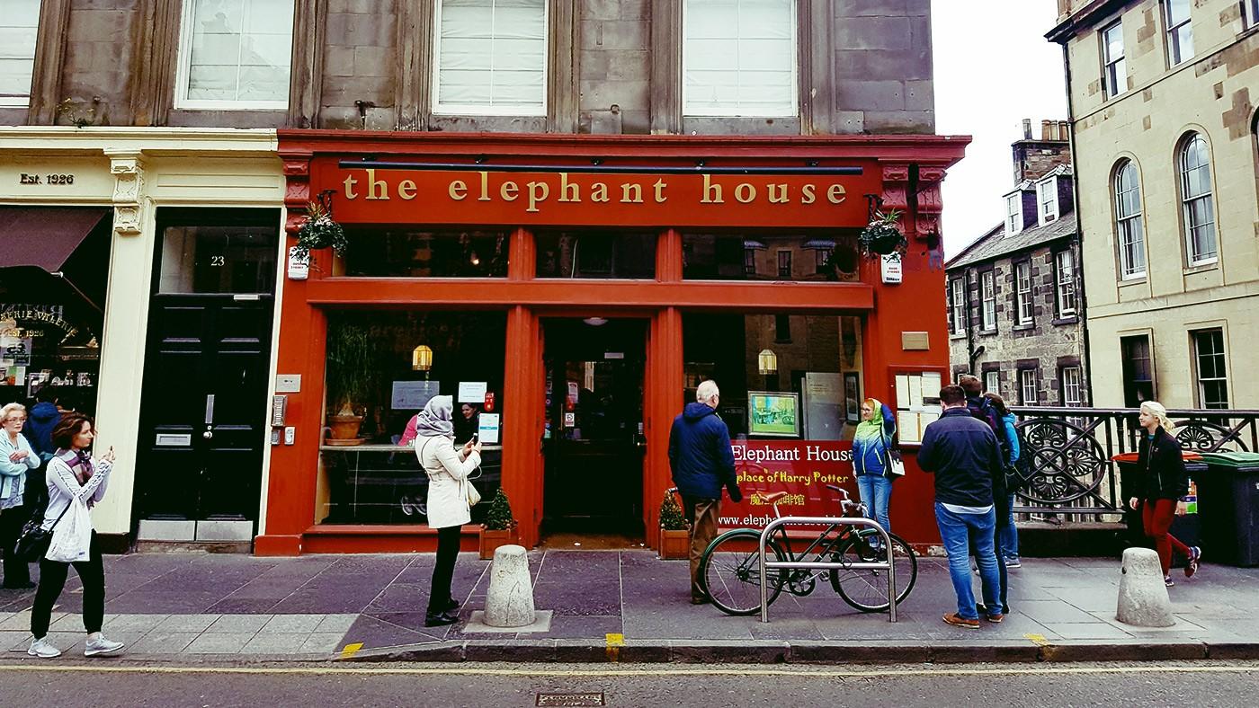 the elephant house cafè