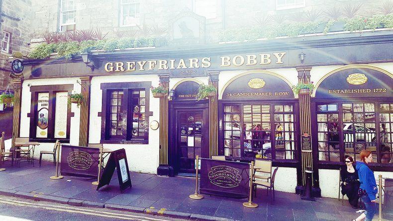Restaurant Greyfrias Bobby