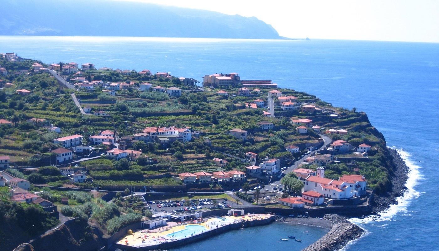 Meerwasserbecken auf Madeira