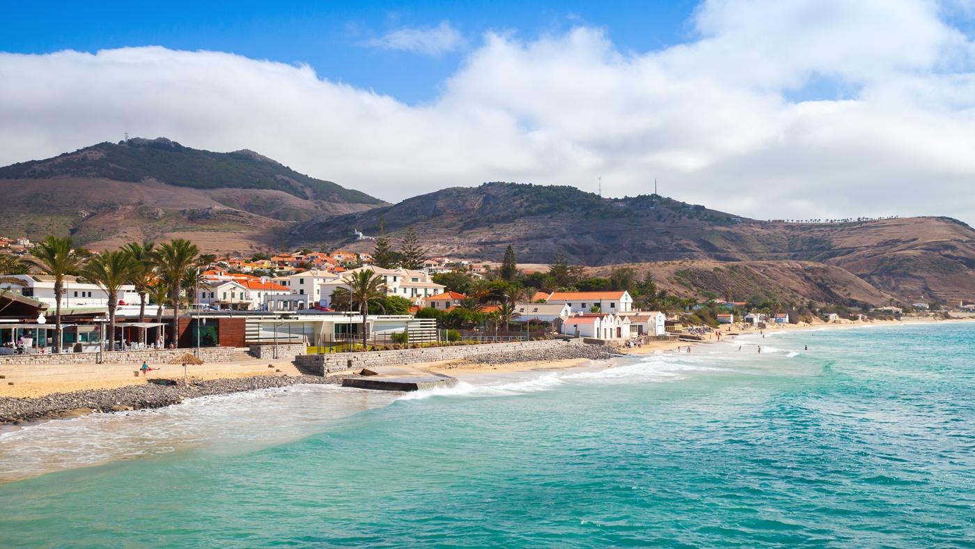 Strand in Porto Santo