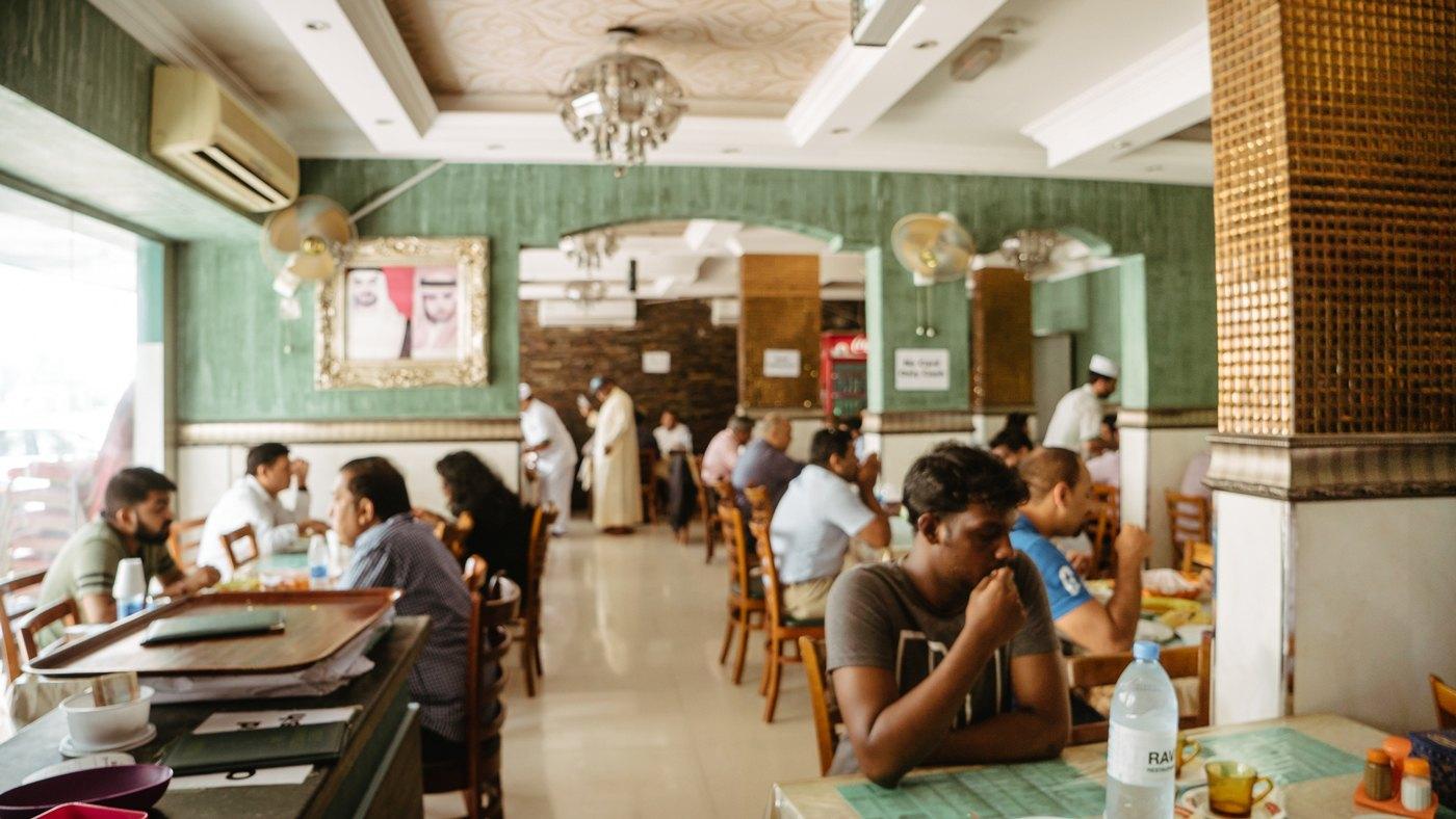 Das RAVI Restaurant im Satwa District