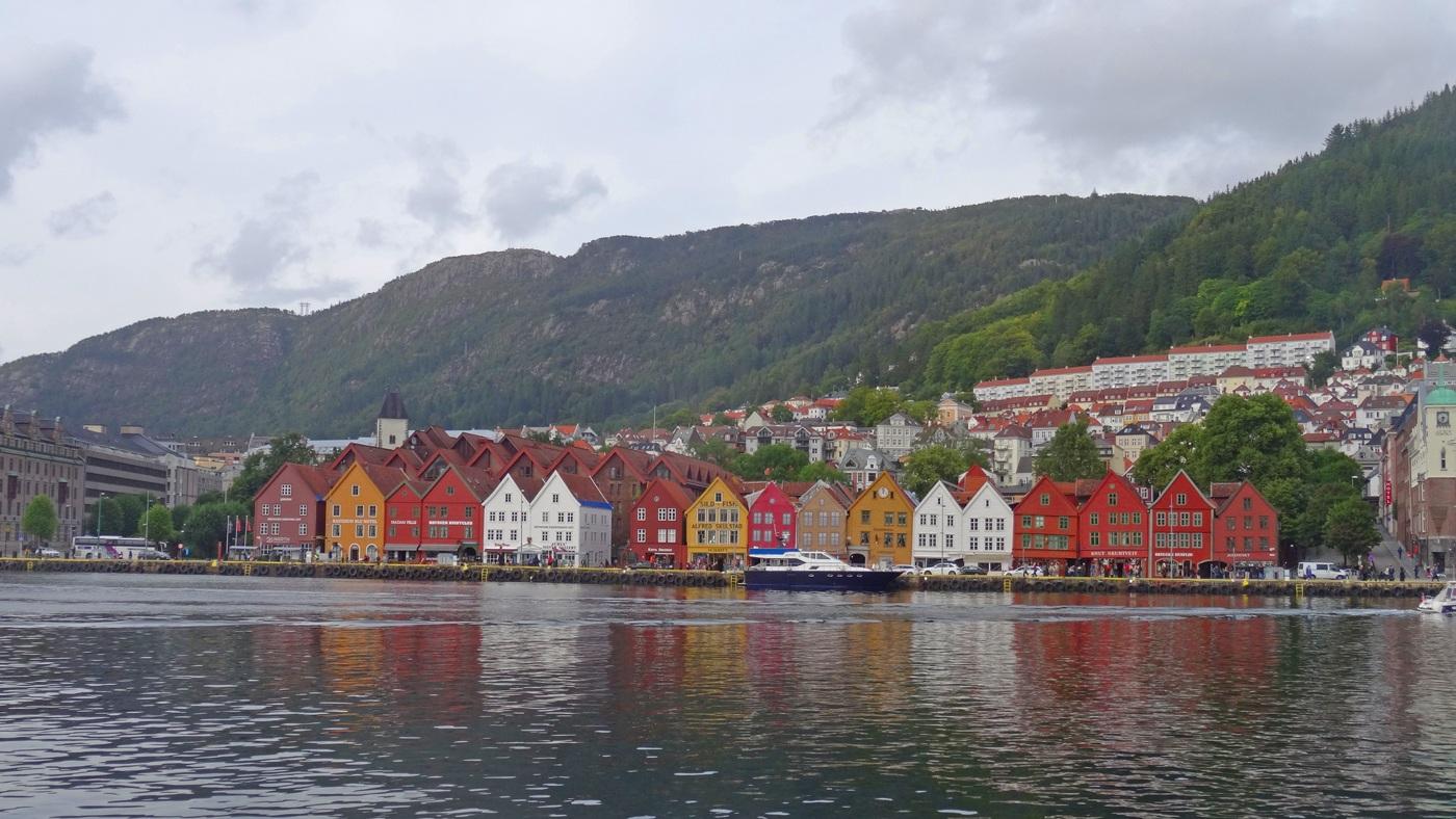 Die bunte Altstadt Bergens