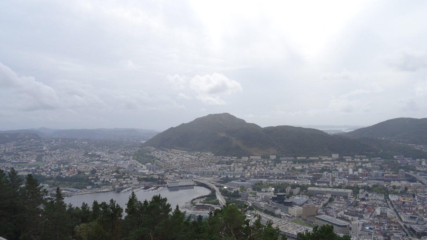 Beste Aussicht auf Bergen
