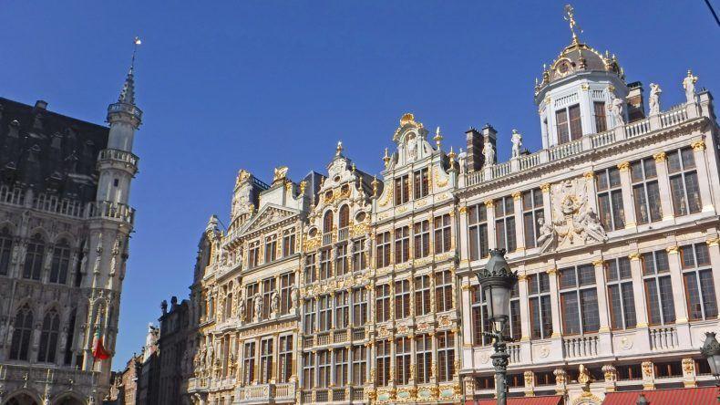 Zentraler Platz in Brüssel