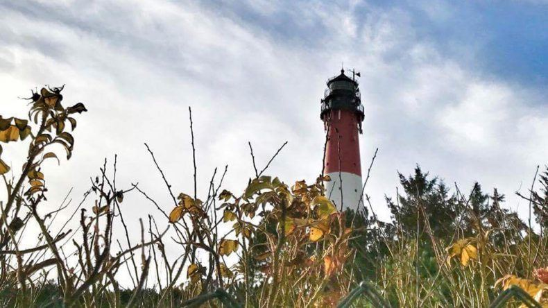 Das Wahrzeichen von Hörnum ist der Leuchtturm.