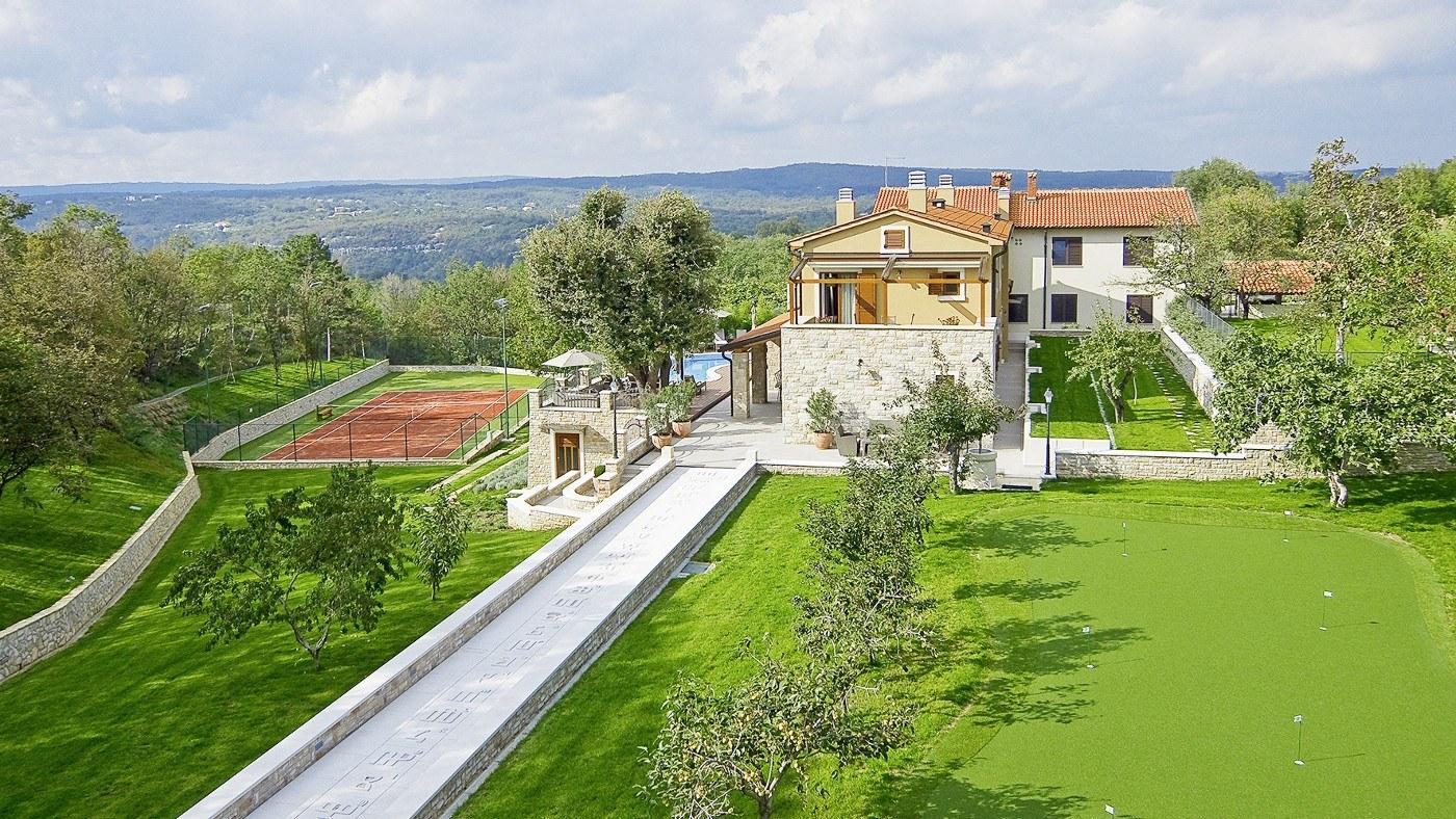 Luxus Ferienhaus in Istrien