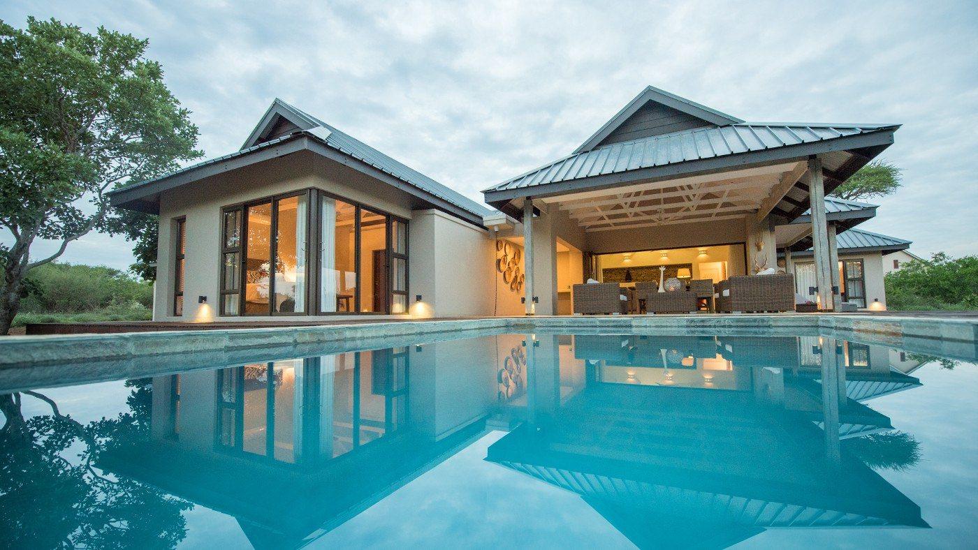 Auch Südafrika hat einige Luxus Ferienhäuser zu bieten