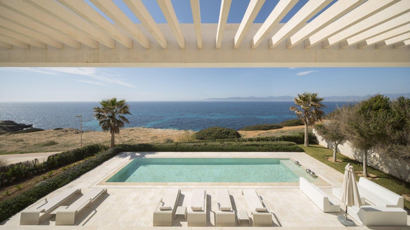Mehr Luxus in einem Ferienhaus geht kaum. Hier auf Mallorca