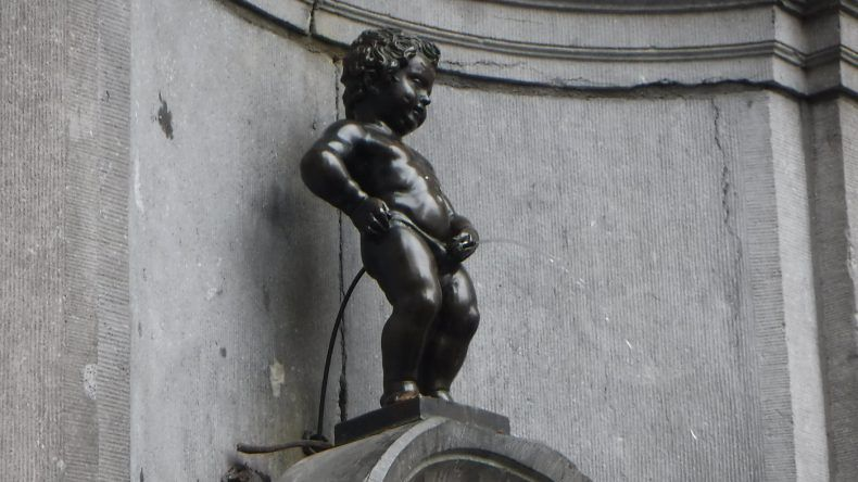 Der freche Knabe in Brüssel