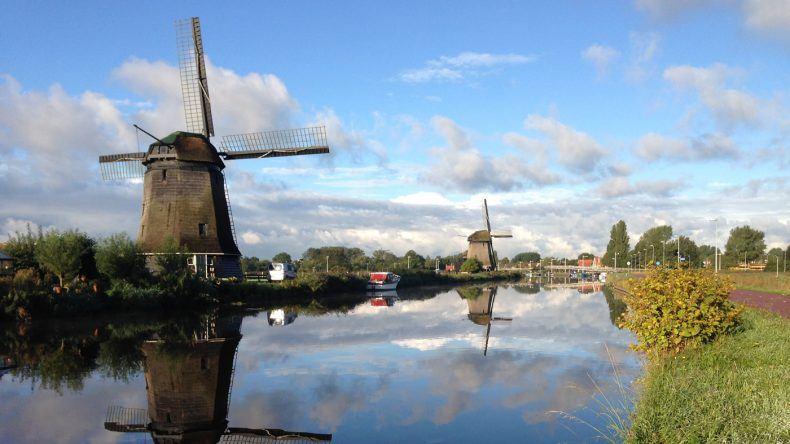 Windmühlen - typisch für Holland