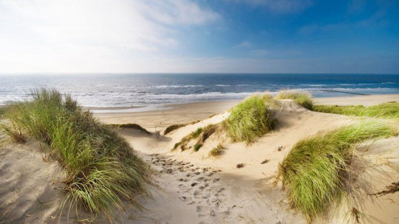 Die Nordseeküste der Niederlande
