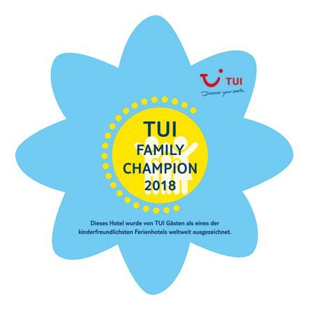 TUI Family Champion Plakette