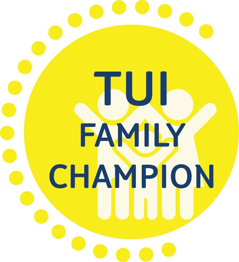 Das Signet des TUI Family Champion