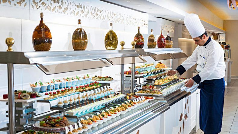 Besser geht es nicht: Das Essen im TUI BLUE Scheherazade ist reichhaltig, vielfältig, frisch & abwechslungsreich