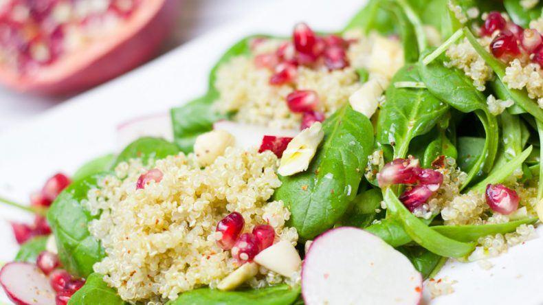 Quinoa mit Granatapfel