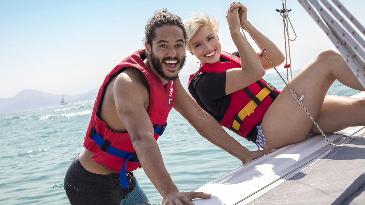 Das vielfältige Wassersportprogramm der TUI MAGIC LIFE Clubs überzeugt!
