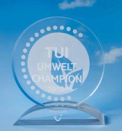 Wer bekommt den TUI Umwelt Champion 2018?