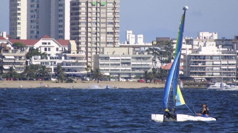Uruguay, Strand von Punta del Este