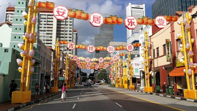 Besonders zum Chinesischen Neujahrsfest lohnt sich ein Besuch