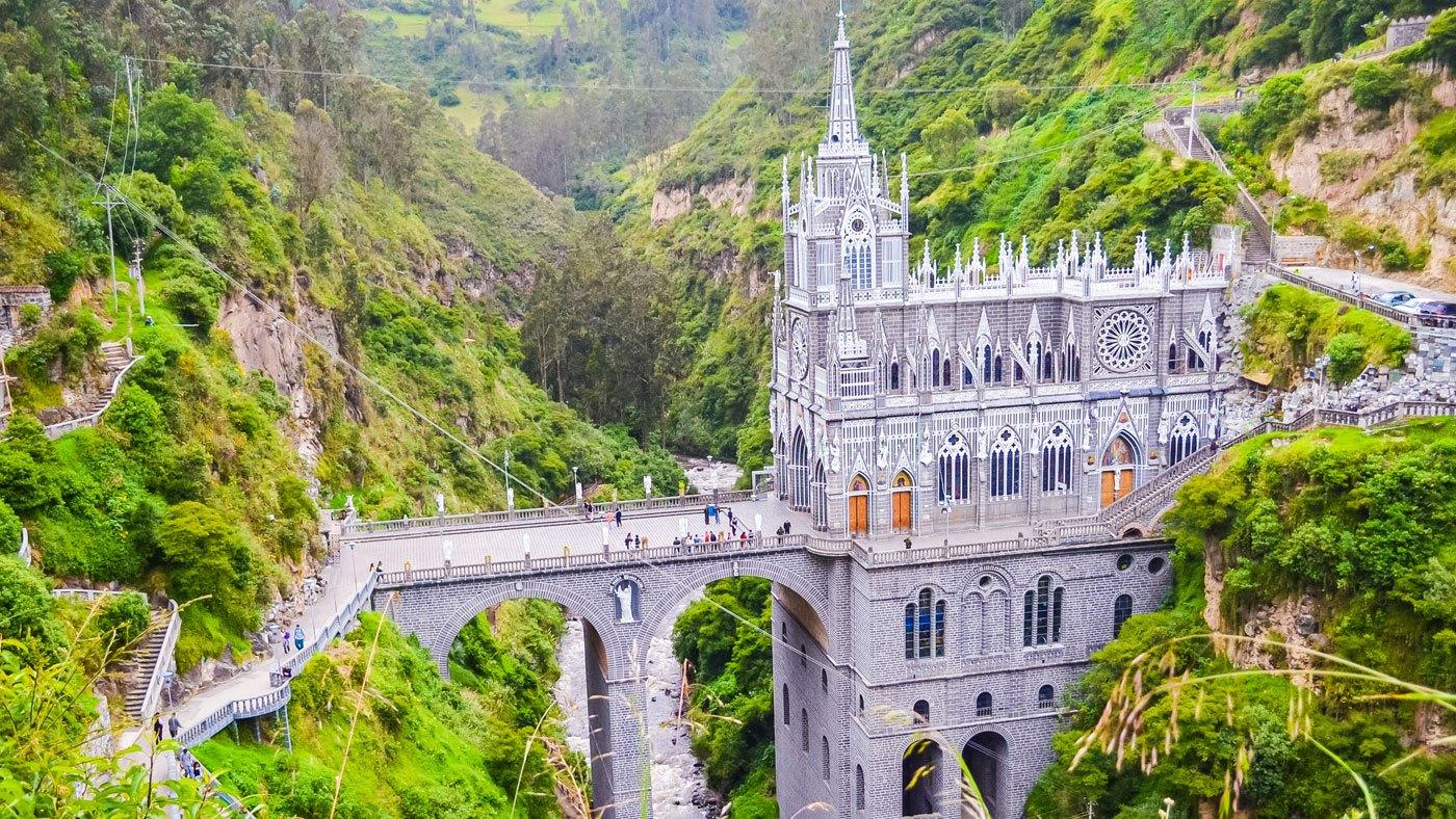 Die schönsten Kirchen: Kathedrale Las Lajas