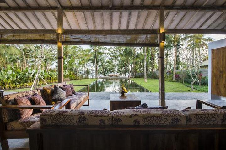 Ferienhaus am Meer auf Bali