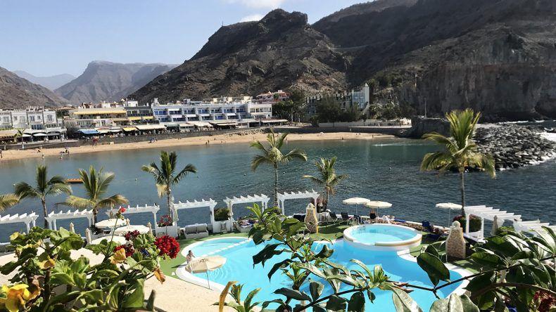 Poolbereich vom THe Hotel Puerto de Mogán.