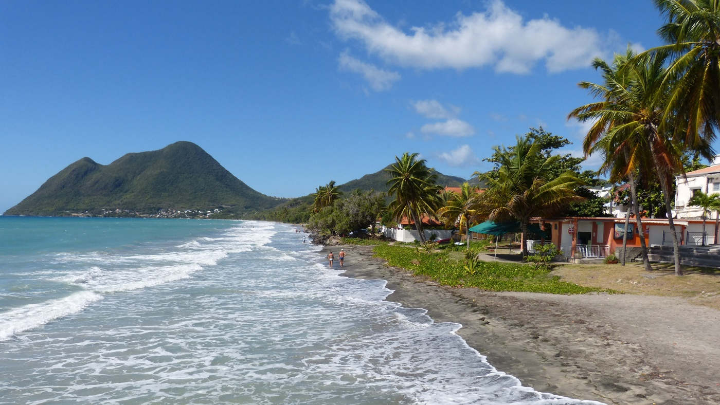 Schöner geht es kaum! Der Rocher du Diamant auf Martinique