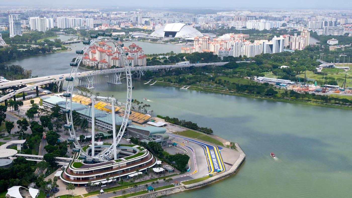 Singapore Flyer: Das zweithöchste Riesenrad der Welt