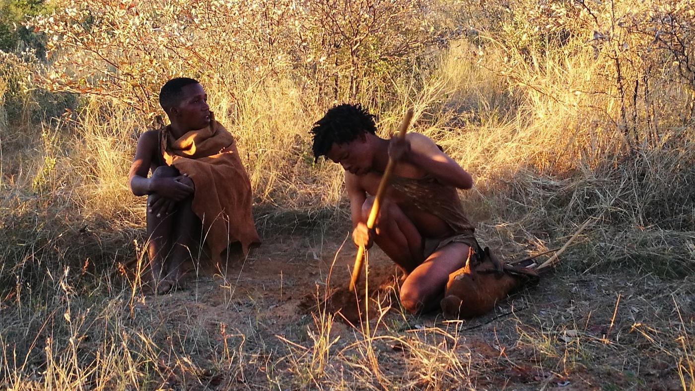 Ein Besuch bei den San Buschmännern