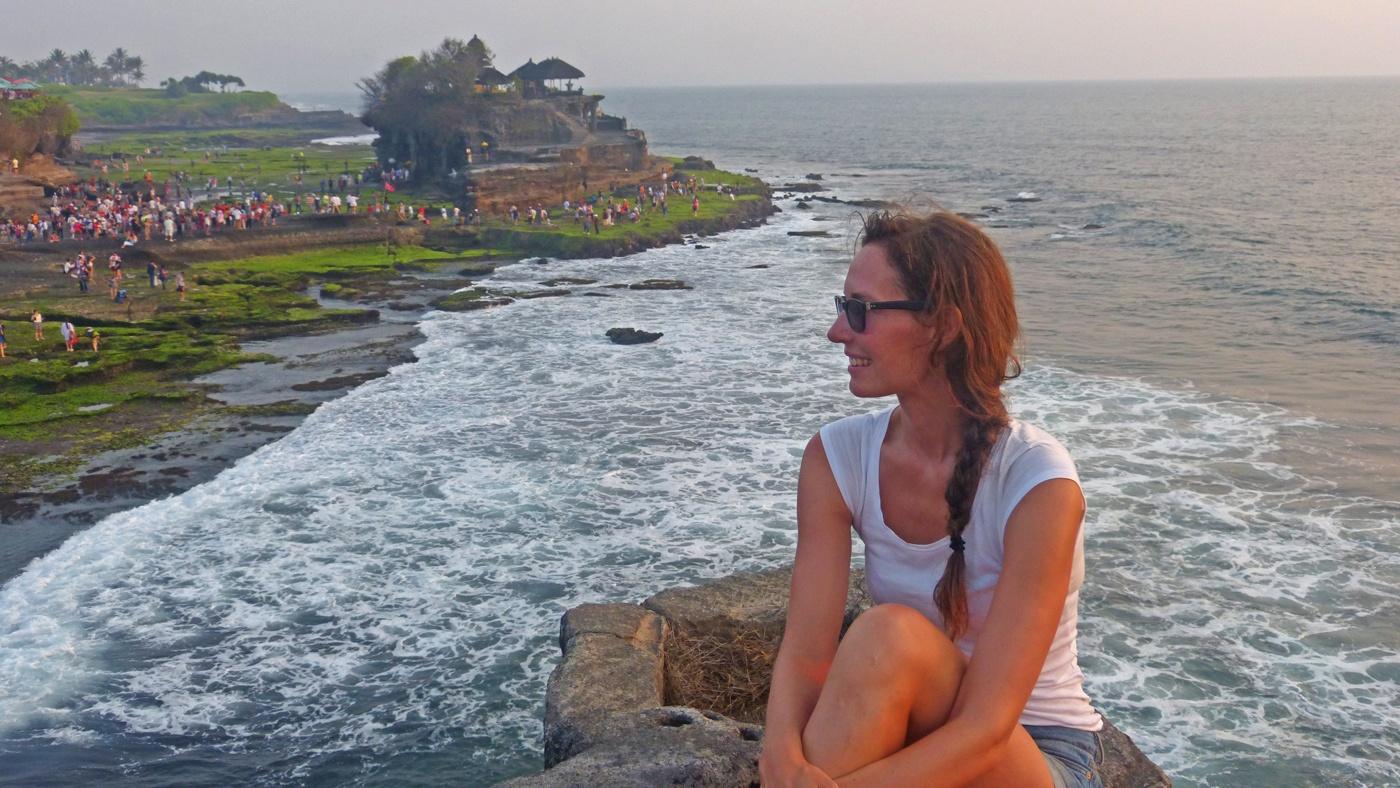 Wohl mit der beeindruckendste Strand der Welt: Tanah Lot auf Bali