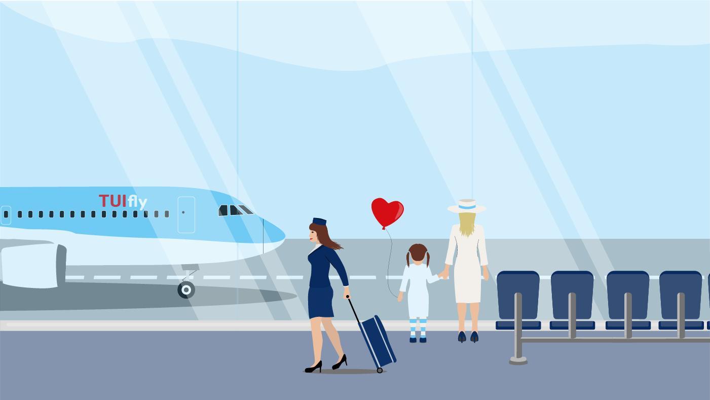 Jeden Monat lässt euch Marlene an ihrem Job als TUI fly Flugbegleiterin teilhaben