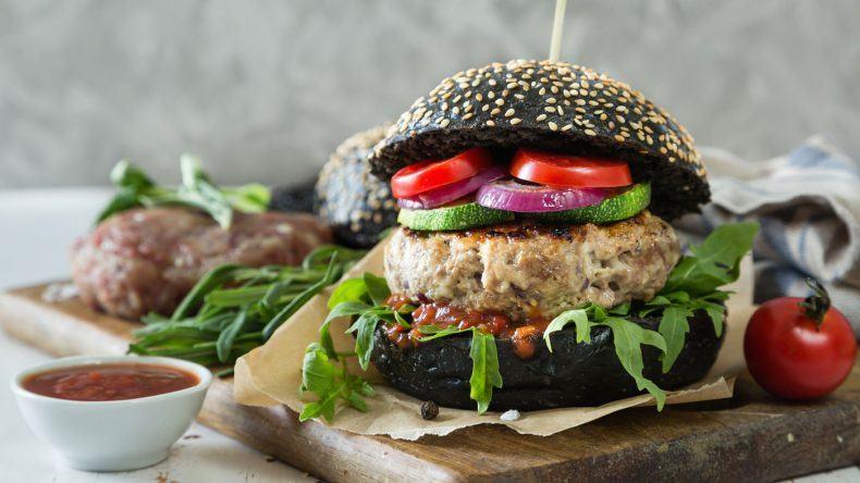 Burger vegan mit Hirse-Bulette