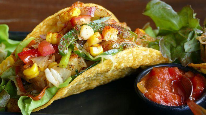 Taco mit Gemüse