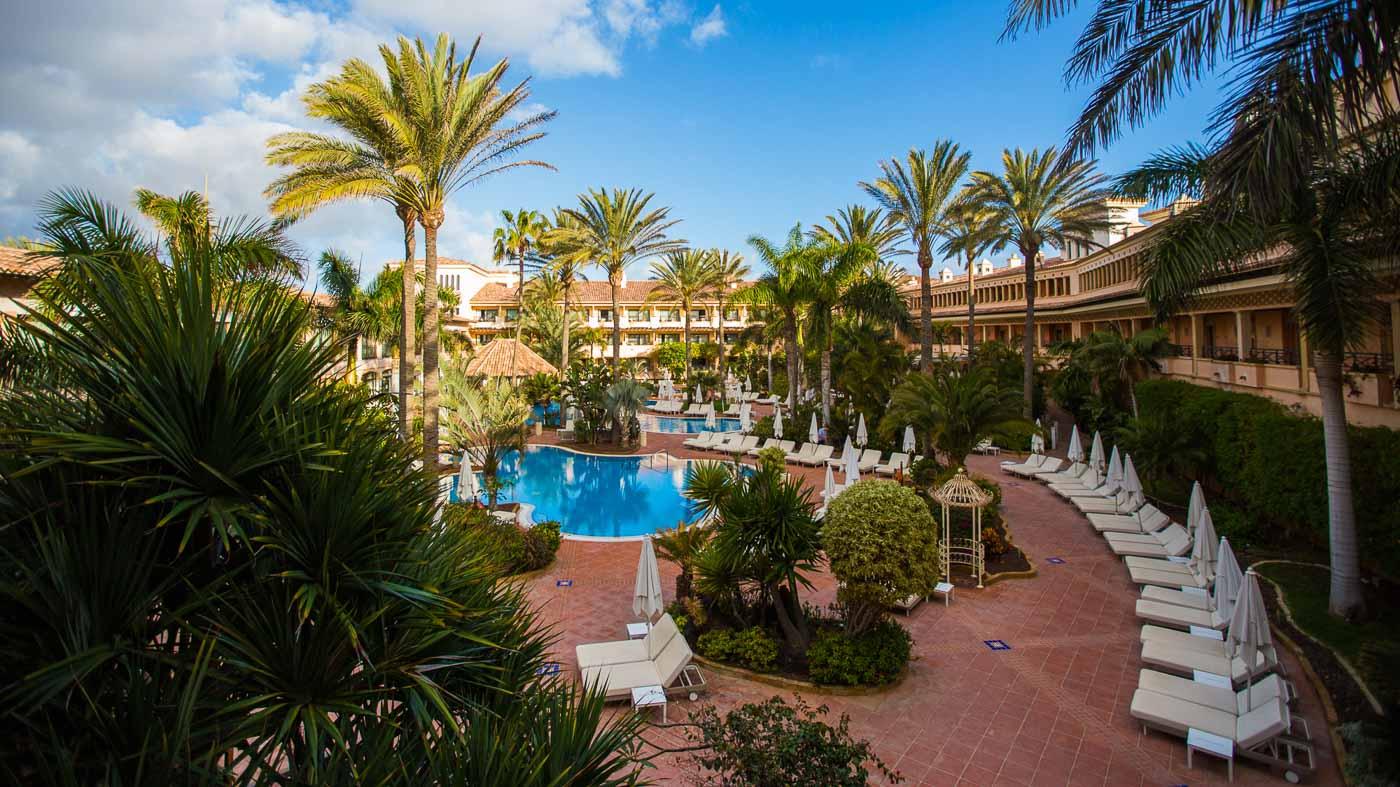 Der Pool im Gran Hotel Atlantis Bahia Real