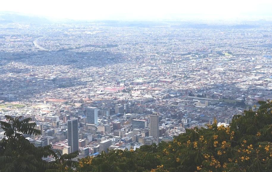 Was für ein sagenumobender Blick auf Bogotá