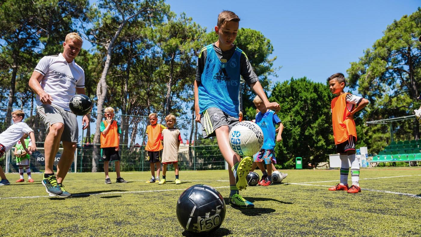 Fußballcamp im ROBINSON Club Esquinzo Playa