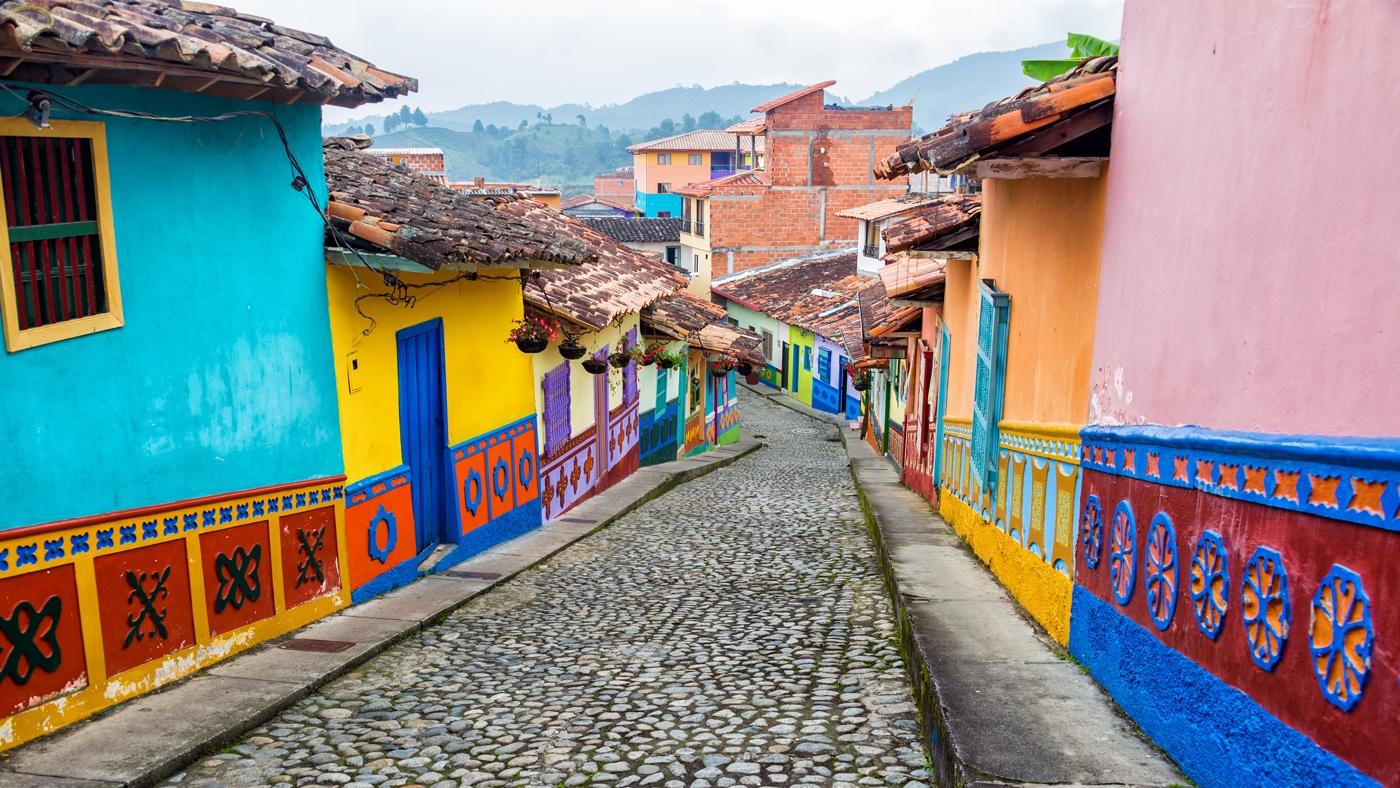 Bunt, bunter, Kolumbien!