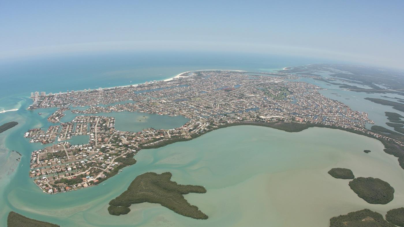 Marco Island von oben