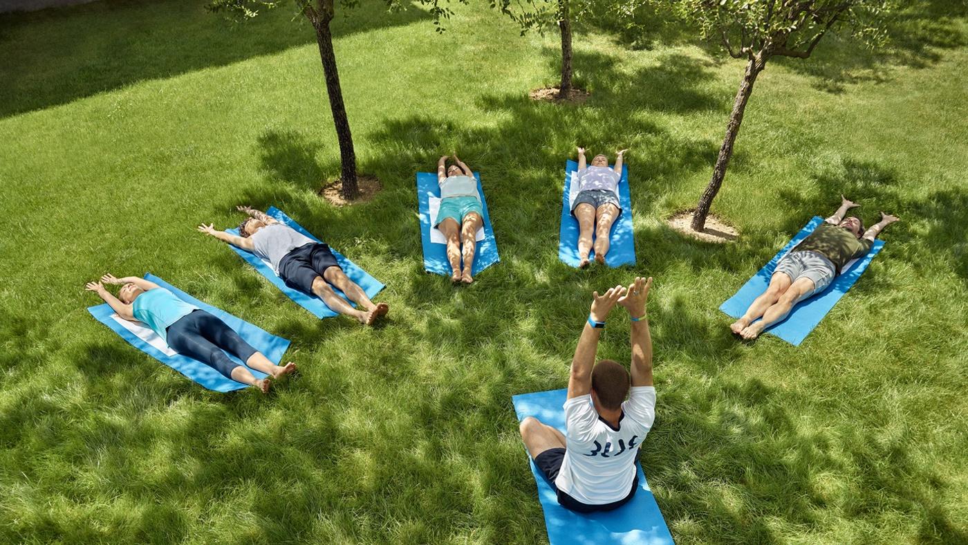 Autogenes Training im TUI BLUE Palm Garden