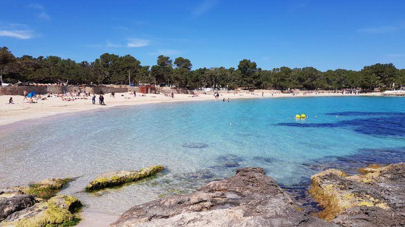 Strand Cala Bassa