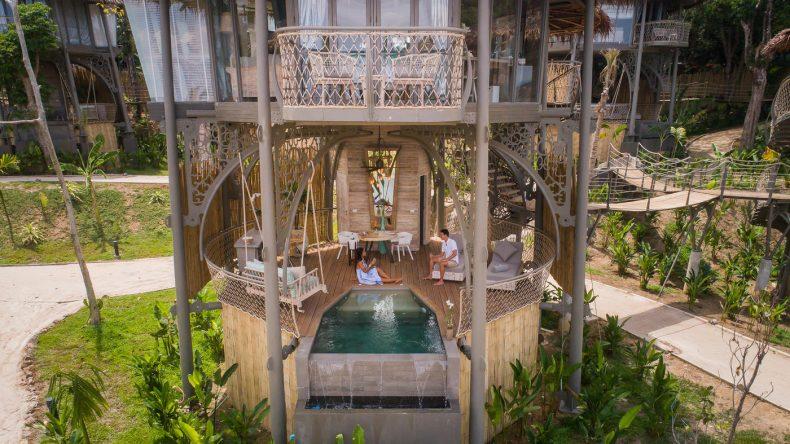 Modern und mitten in der Natur: Die Baumhaus-Villa mit Blick auf Phang Nga Bay