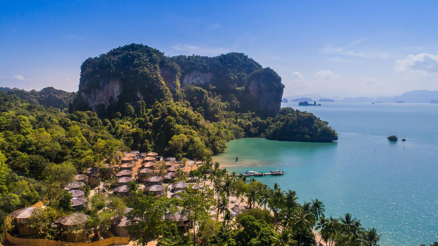 Das Tree House Villas Koh Yao in Thailand überzeugt mit einer paradiesischen Lage
