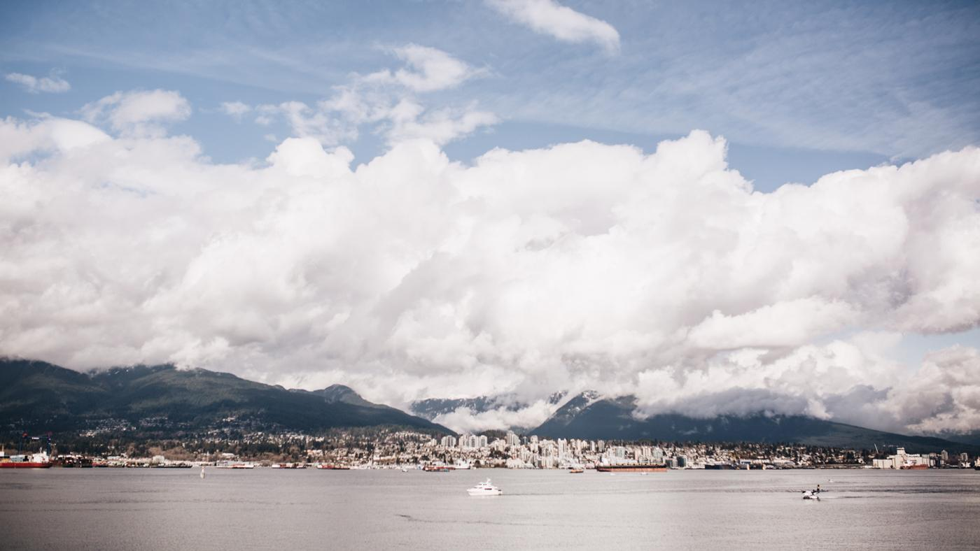 Vancouver aus der Ferne