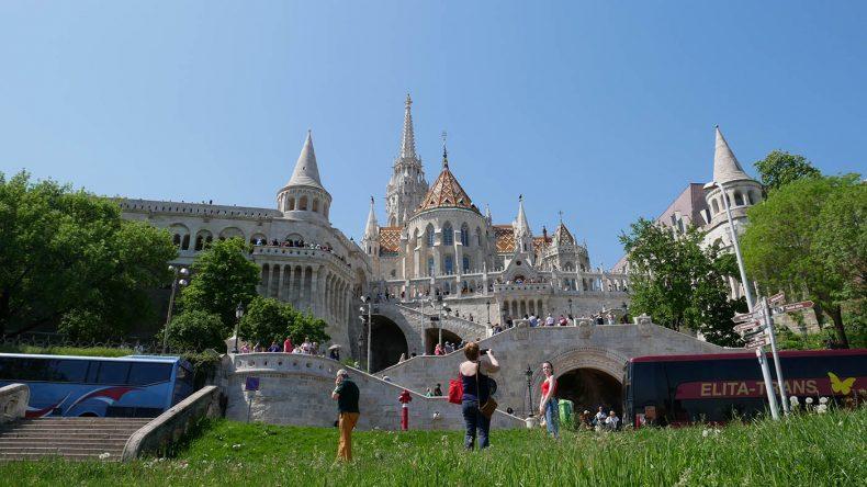 Fischerbastei in Budapest.