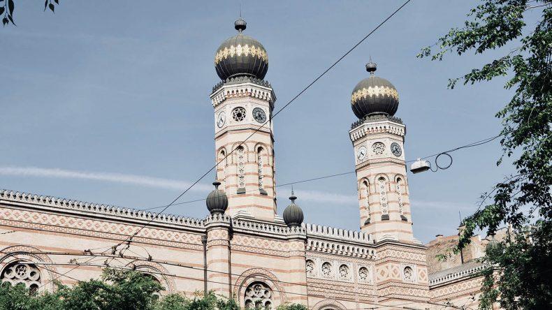 Die Große Synagoge in Budapest.