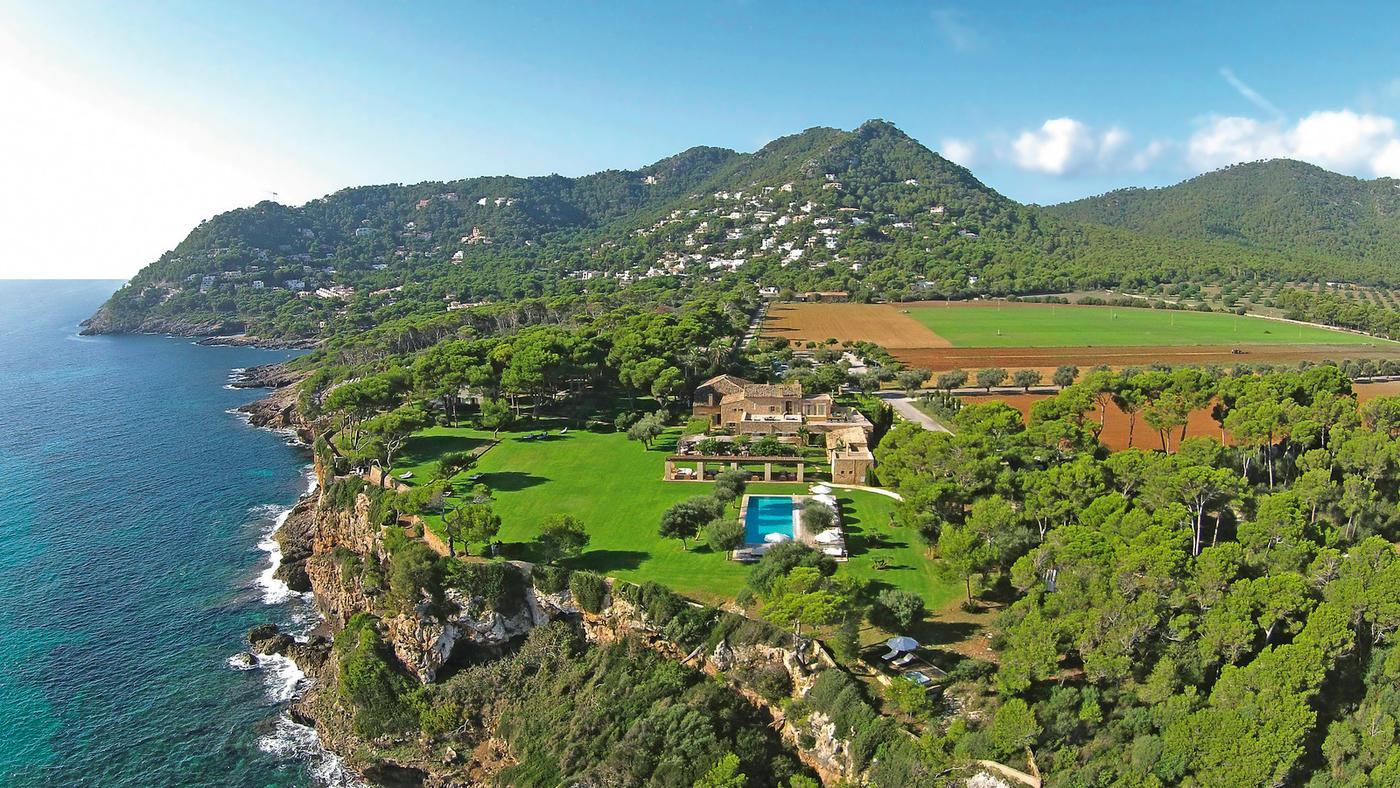 Perfekte Lage über dem Meer: Unser Landhotel auf Mallorca, das Hotel and Beach House Can Simoneta