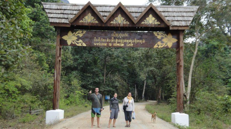 Auf dem Weg zur Kong Lo Höhlen-Tour