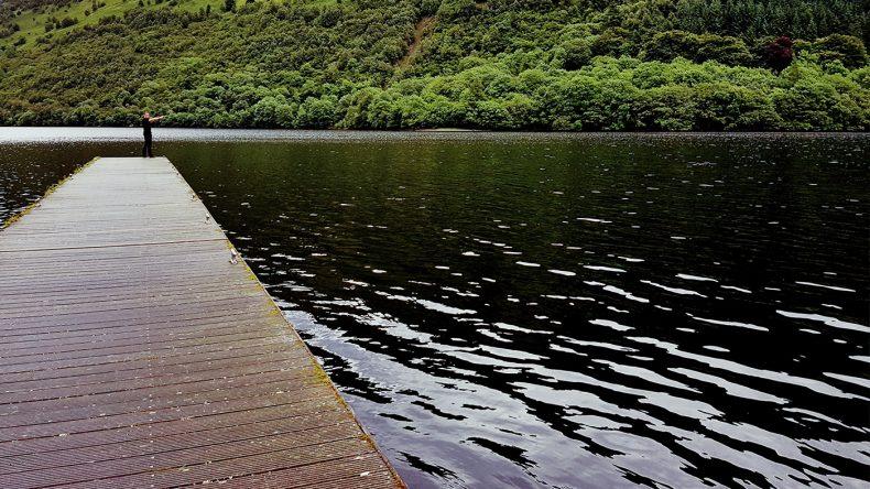 Panorama Blick auf den Loch Oich